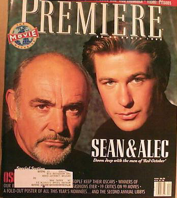 Sean Connery and Alec Baldwin